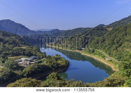 Beautiful Country Side Landscape At Shihting District