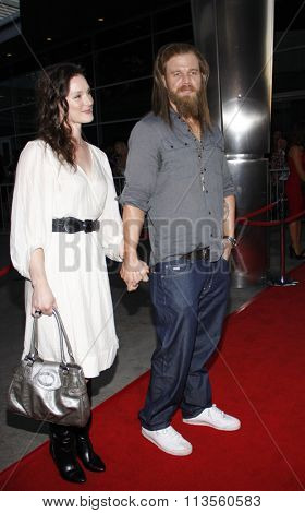 HOLLYWOOD, CALIFORNIA - August 30, 2011. Ryan Hurst at the Season 4 premiere of FX Network's
