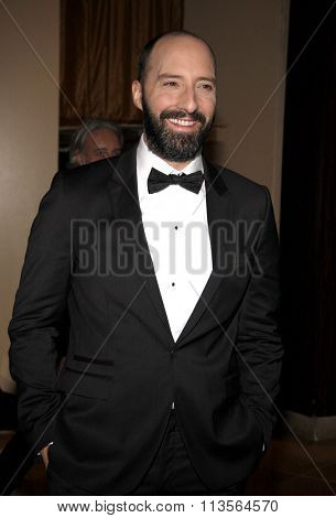 Tony Hale at the 19th Annual Art Directors Guild Excellence In Production Design Awards held at the Beverly Hilton Hotel in Los Angeles, USA on January 31, 2015.