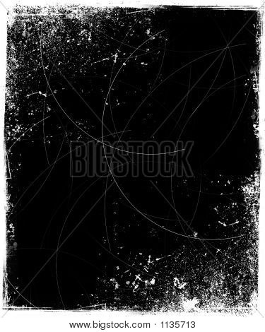 Grunge Frame With Scratches