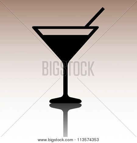 Black Coctail icon.