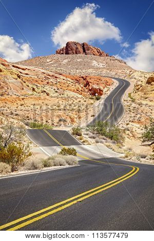 Photo Of An Endless Winding Road