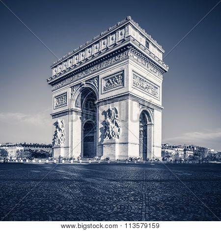 Arc de triomphe - Paris - France