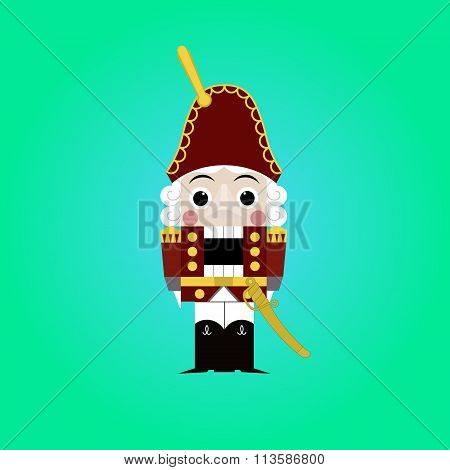 Christmas Nutcracker - Soldier Figurine Icon
