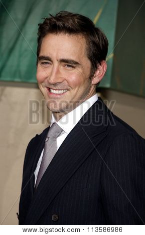 Lee Pace at the Los Angeles premiere of