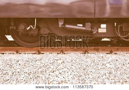 A Train Vintage