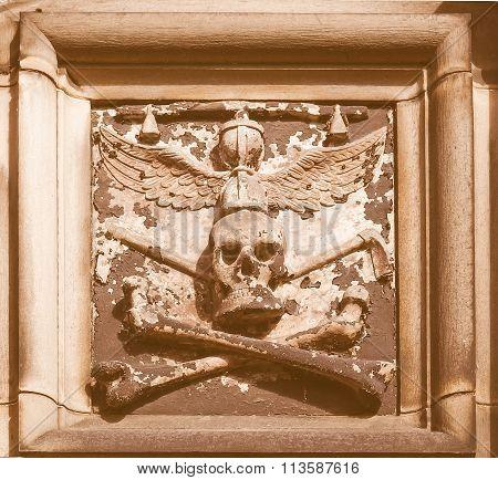 Gothic Tomb Vintage