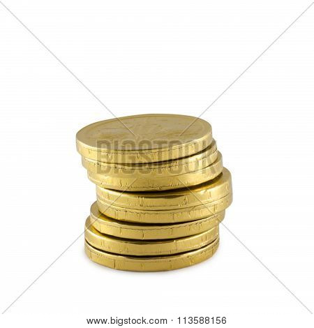 Glittering Gold Coins