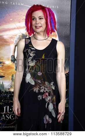 Director Lana Wachowski at the Los Angeles premiere of