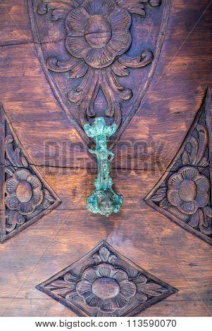 Ornamental Door In Dubrovnik