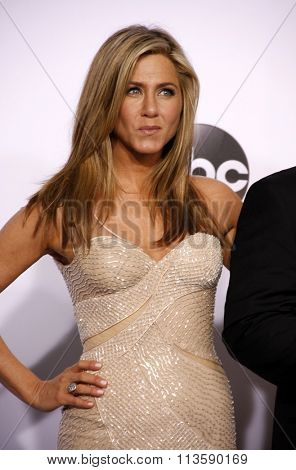 Jennifer Aniston at the 87th Annual Academy Awards - Press Room held at the Loews Hollywood Hotel in Los Angeles, USA February 22, 2015.