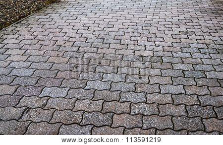 Concrete Blocks, Street Road Pavement Texture