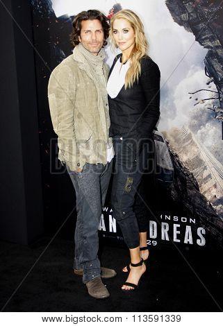 Elizabeth Berkley at the Los Angeles premiere of
