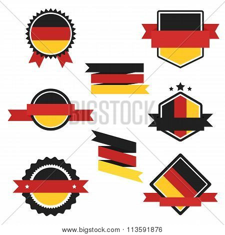 World Flags Series. Vector Flag of Germany.