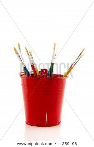 Pincéis de pintura