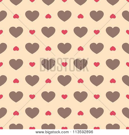 Cute Retro Abstract Seamless Pattern. Can Be Used For  Cover Fills, Web Page Background, S