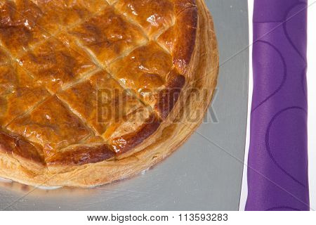 """Epiphany Cake, King Cake In French """"galette Des Rois"""""""