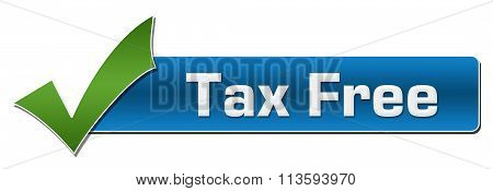 Tax Free With Green Tickmark