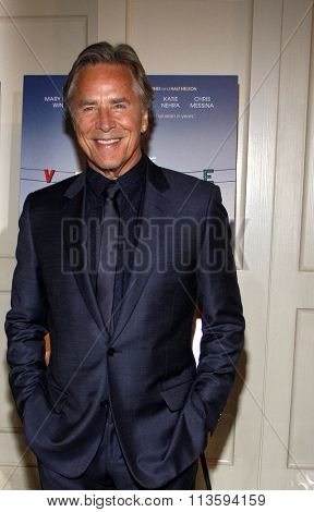 Don Johnson at the Los Angeles premiere of