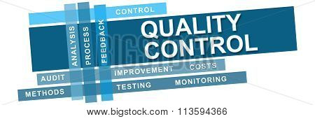 Quality Control Blue Stripes Keywords