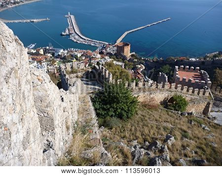 A View From Alanya Castle