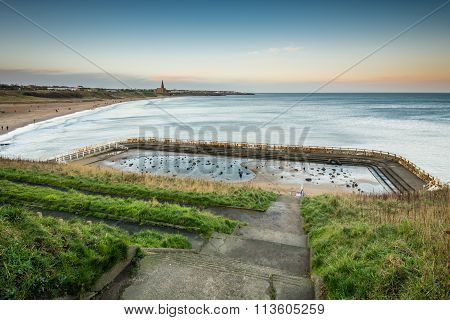 Tynemouth Pool And Sea
