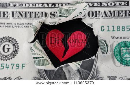 Torn Divorce Dollar