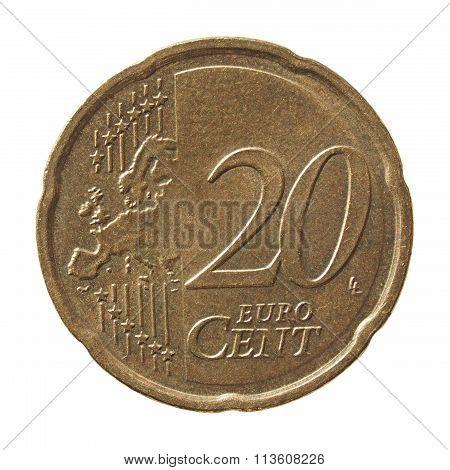 20 Cent Euro Coin