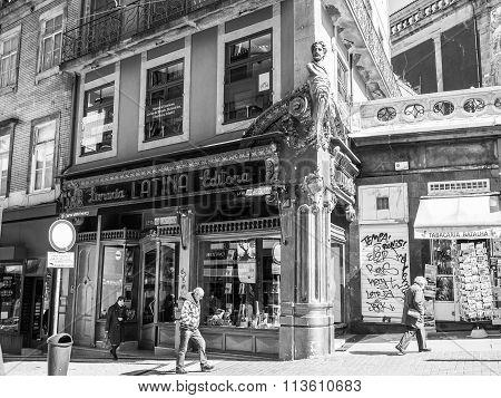 Porto book store