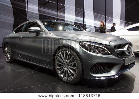 2016 Mercedes C-class Coupe