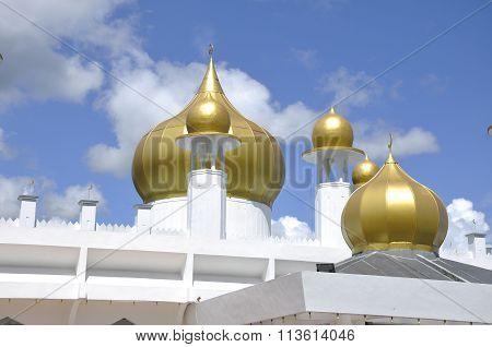 Dome of Tuanku Munawir Royal Mosue in Negeri Sembilan