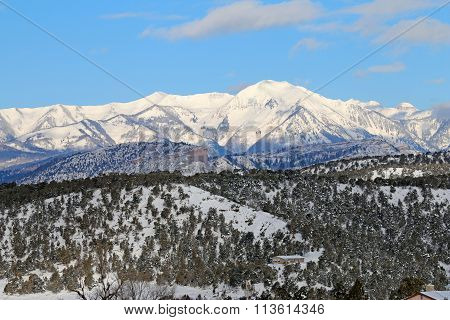The La Plata Mountains