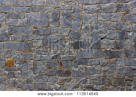 Old Stone Gray Wall