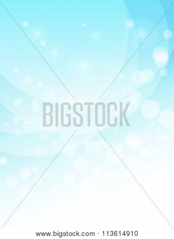 Abstract Vertical Light Blue Background