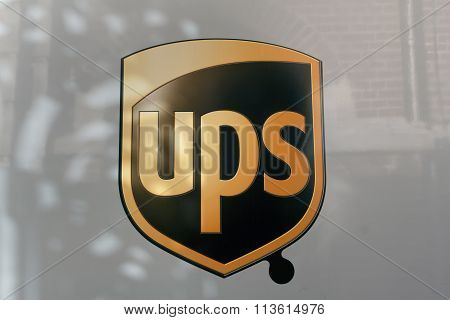 United Parcel Service Ups Is The Largest And Oldest Courier Service In The World