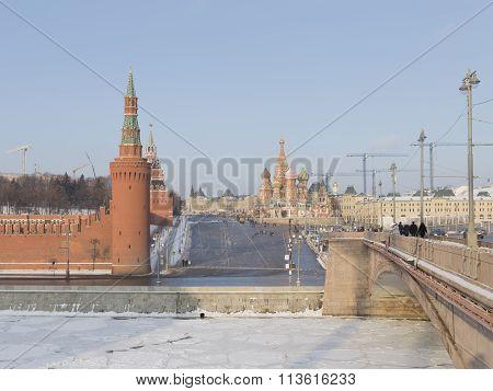 Vasilevsky Descent Winter