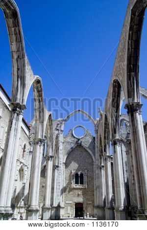 Carmo Covent In Lisbon