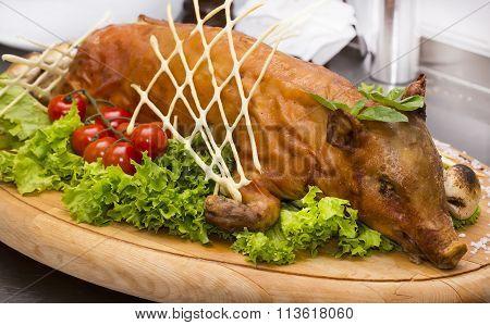 roasted suckling pig