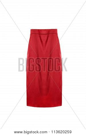 Pencil Skirt Isolated