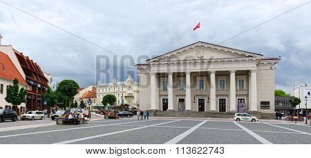 Town Hall Square, Vilnius, Lithuania