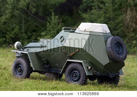 German Armoured Troop Carrier Of The Second World War.
