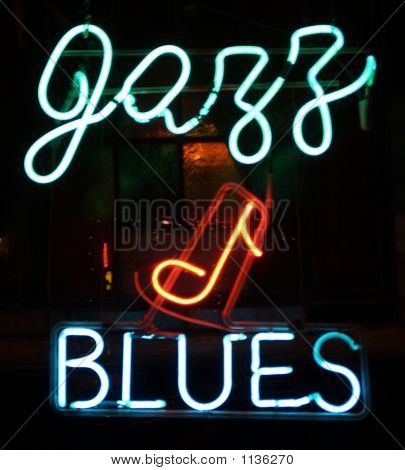 Jazz & Blues Neon Sign