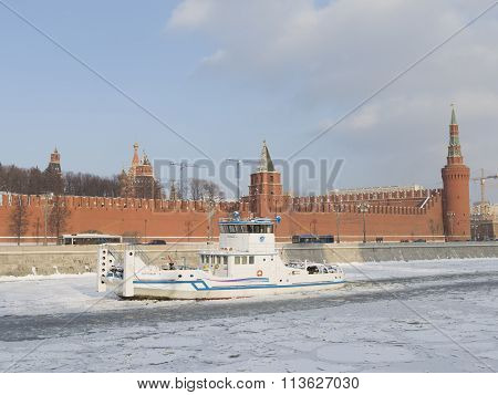 The Ship - The Icebreaker In Moscow