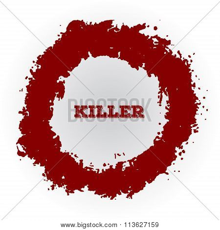 Shotgun Hole, Bullet Red Hole, Blood Splatters