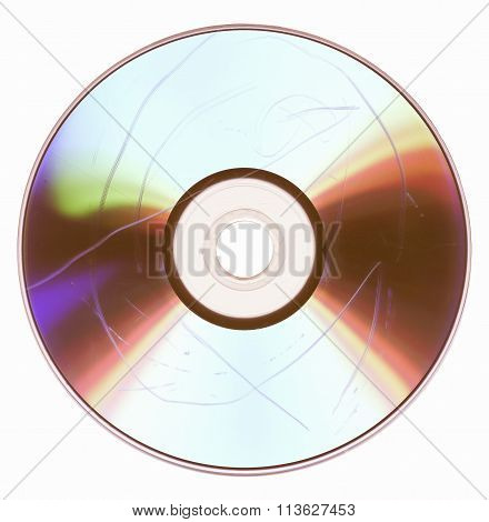 Dust And Scratches On Cd Dvd Vintage