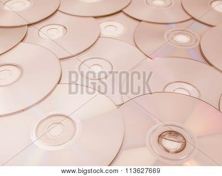 Cd Dvd Db Bluray Disc Vintage