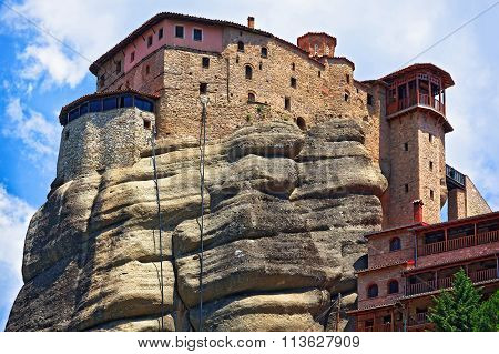 The Holy Monastery Of St. Nicholas Anapausas, Meteora, Greece
