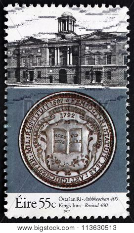 Postage Stamp Ireland 2007 School Of Law