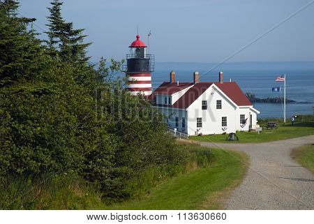 Quoddy Lighthouse Is Easternmost Beacon