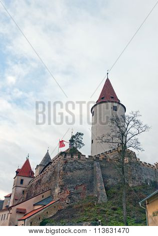 Krivoklat Castle (xii C.), Czech Republic